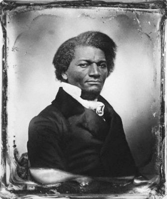 Photograph of Frederick Douglass, 1818-1895