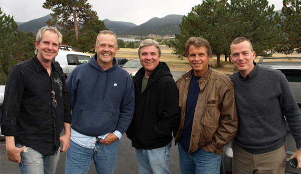 Photo of Steve Hall, Marty Rathbun, Mike Rinder, Dan Koon, Geir Isene