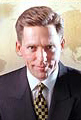 Insane look of David Miscavige